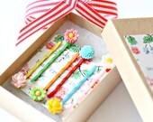 Girls Bobby Pin Set, Girls Flower Bobby Pins, Girls Birthday Gift, Stocking Stuffer Gift for Girls