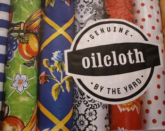 Swatches from OilclothByTheYard