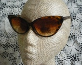 Tortoiseshell Cat Eye Sunglasses Rockabilly 1950's Inspired