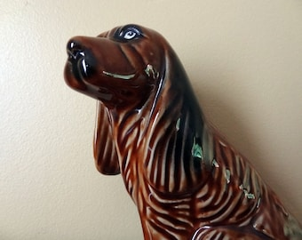 Large Brown Dog Figurine Irish Setter Gifts for Dog Lovers