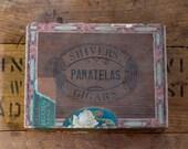 Antique Cigar Box Shivers Panatelas Philadelphia