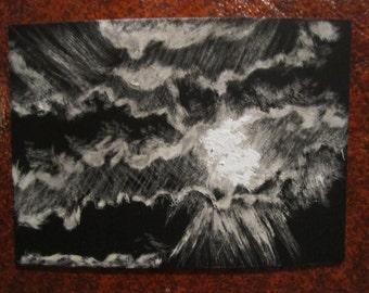 Clouds Art Card
