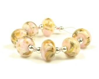 Sarah  -  Handmade Lampwork Glass Beads