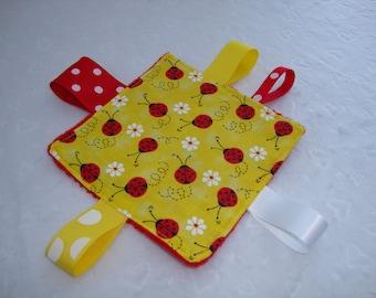 Lady Bug Baby Crinkle Toy