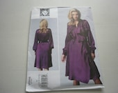 Pattern Womens Dress by Anne Klein Sizes 16 to 24 Vogue 1358 A