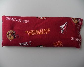 Eye Pillow - Florida State University Seminoles