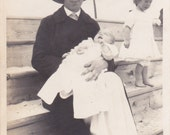 Lady and Baby - Vintage Photograph, Veranacular, Found Photo, Ephemera  (LLL)