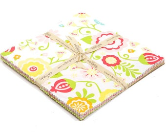 "Simply Sweet 10"" Squares Stacker by Lori Whitlock for Riley Blake, 24 pieces"