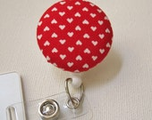 Swivel Clip Badge Reel in Sweetheart