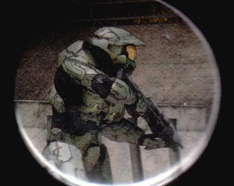 On The Prowl In HALO Button