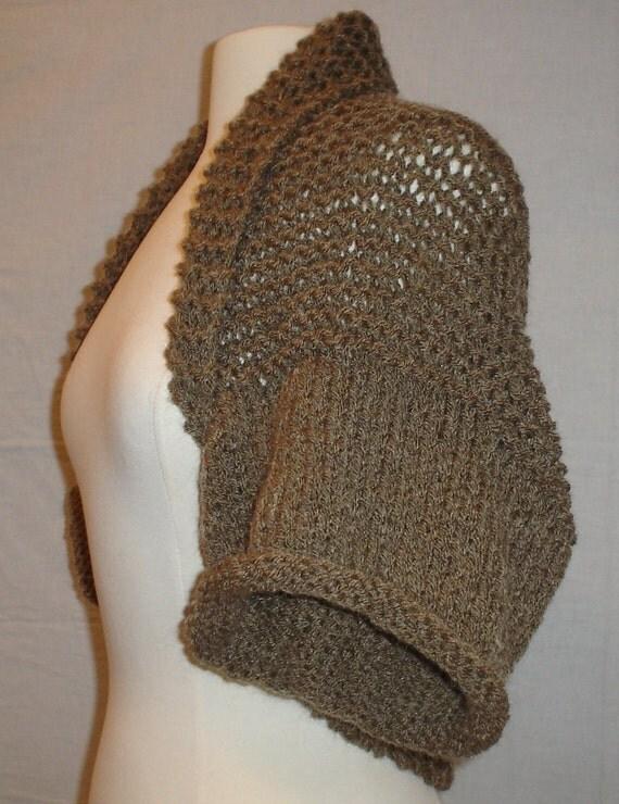 evening bolero or shrug pdf sewing pattern