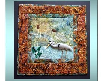 Great Blue Heron Blank Gift/Note Card & Envelope