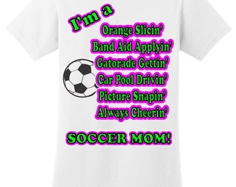 Plus Size Soccer Mom T Shirt