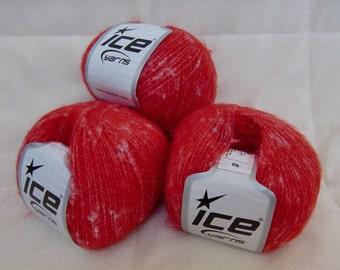 Ice Yarns Elk Lace yarn, Red
