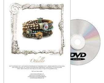 DVD Bead Pattern-Othello-Includes Disc and Printed Copy of the Pattern