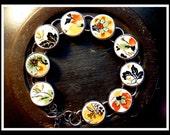 Recycled BROKEN CHINA PLATE Bracelet - Elegant Laughlin