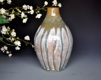 Bottle Neck Flower Vase Handmade A
