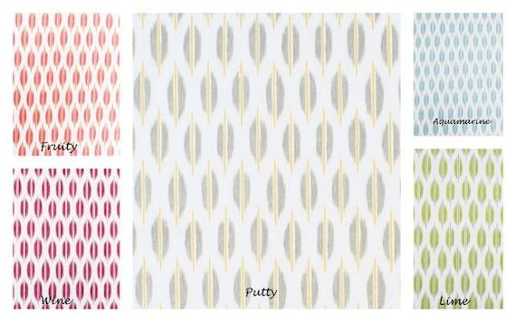 Ikat Dot Print- Shower Curtain, Standard Size 72x72, Putty, Spice ...