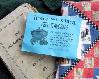 Bouquet Garni Blends, herb seasoning for soups, stews and casseroles, bay leaf, rosemary, peppercorns