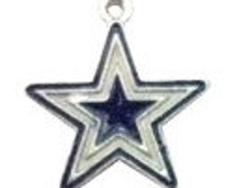 10 pieces - Dallas Cowboys Charm