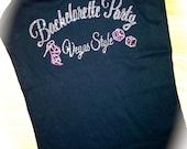 6 Las Vegas Bachelorette Party Tank Tops. Bridesmaid Tank Tops. Bachelorette Party Tank Shirts. Drinking Shirts. Girl's Weekend Shirts.