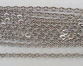 """24"""" Stainless Steel Chains - 24"""" Long x 1.5mm Wide - 10 Finished Chains"""