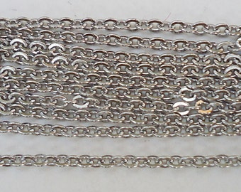 "20"" Stainless Steel Chains - 20"" Long x 1.5mm Wide"