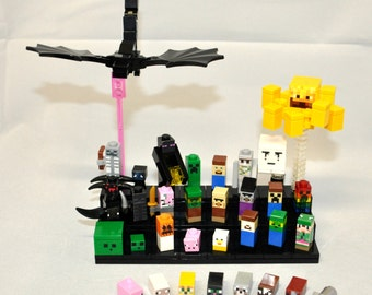 Minecraft Inspired Custom MINI Mob Minifigures Super Lot 21105 21106 21107 Cuusoo