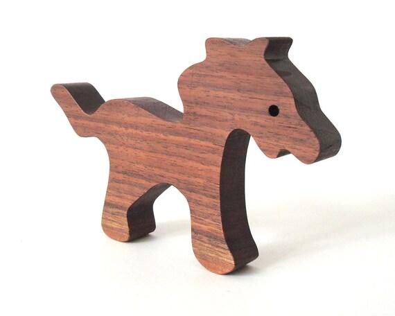 ... Waldorf Wood Toy Zoo Animals Wooden Horse Child Safe Zanzibar Zoo