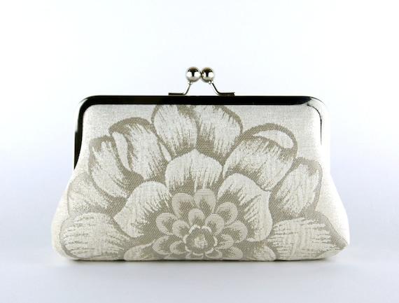 Brocade Velvet Clutch, Wedding bag, Bridal clutch, Wedding purse, Gift ideas
