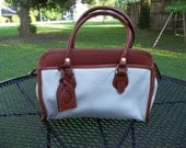 On Hold for BOSQUE Vintage Liz Claiborne Leather Handbag Purse Satchel