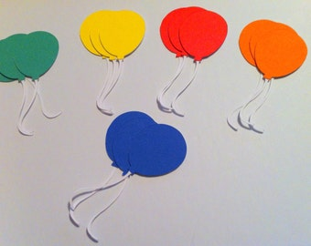 Balloons Die Cuts 3 inches - 15