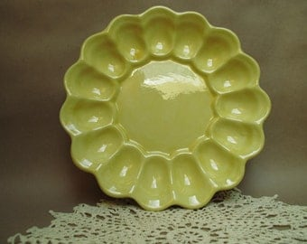 Sunshine Yellow Deviled Egg tray
