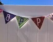 Infinity Banner - Printable Banner Alphabet