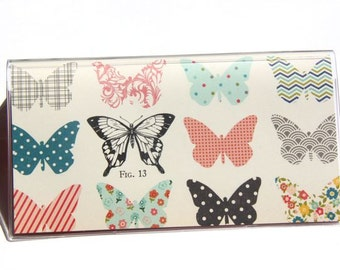 CHECKBOOK COVER - Butterfly Catalogue