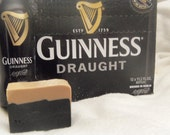 Select 2 or 3 Beer Soaps made with Guinness approx 4oz each Made to look like a pint of Beer with a head. Man soap Guy