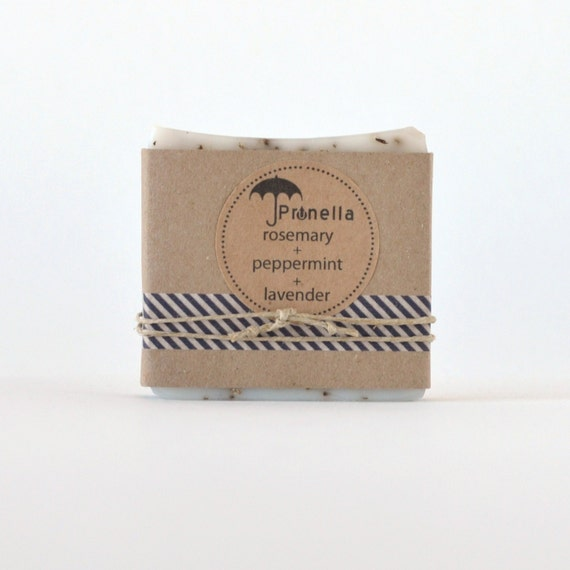 Rosemary Peppermint Handmade Soap: Unavailable Listing On Etsy