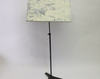 Handpainted Battered  Tall Vintage Music Stand Podium