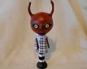 Rosie Demon Clay Art Doll