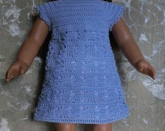 201 Spider Web Dress Crochet pattern  For 18 Inch Dolls