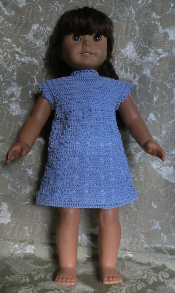 Crochet Dress Up Doll Pattern : 201 Spider Web Dress Crochet pattern For 18 Inch Dolls