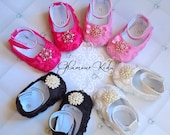 SALE Baby girl shoes. baby rhinestone shoes. infant girl shoes. soft  baby shoe. baby shoes. pink baby shoes.