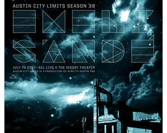 Emeli Sandé Austin City Limits poster