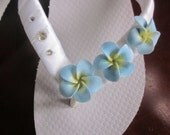 WEDDING Flip Flops!!.BRIDAL Flip Flops/Wedges.Beach Wedding.Bling Flip Flops.Bridal Accessories.ALL Colors Avail.Flower Flip Flops.