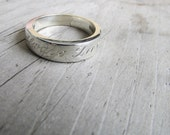 wedding ring womans wedding band female wedding band wedding ring band engraved ring engraved jewelry