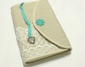 Bible cover, Hobonichi covercrochet,linen,cotton, custom made,personal,