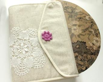 Hobonichi cover Bible cover, Journal Cover custom bible cover,crochet,linen,cotton, custom made