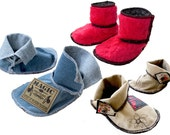 Wolly and Denim Boot Shoe Sewing Pattern