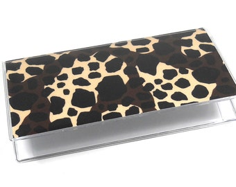 Checkbook Cover Giraffe