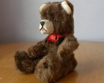 "Vintage 8.5"" Bear - Berlin Bear - Souvenir Bear - Berliner Bar - 1970's Toy"